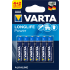 Varta Longlife Power AAA LR03 4+2 броя