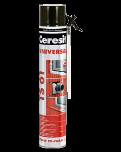 Ceresit TS 61 Монтажна полиуретанова пяна, 750мл.