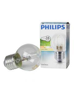 """Халогенна лампа тип """"топче"""" PHILIPS Mini Classic 28W E27 P45"""