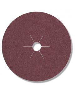 Фибър диск  CS 561 - P320  Метал    - звездообразен отвор 125 мм. х 22 мм.  P 320