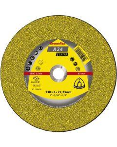 A 24 Extra диск за  рязане на  метал 230 х 2 х 22.23  мм.