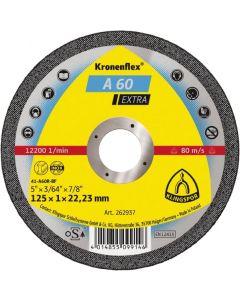 A 60 Extra диск  за  рязане на стомана 125 x 1 x 22.23 мм.