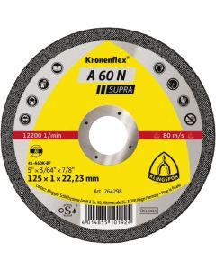 A 60 N Supra  диск  за   рязане на  алуминий   125 x 1 x 22.23 мм.