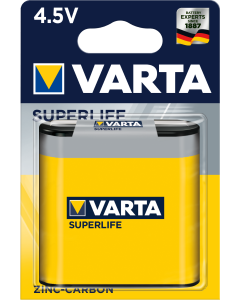 Varta Superlife 3R12P 4.5V 1 брой блистер