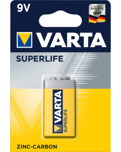 Varta Superlife 6F22 9V 1 брой блистер