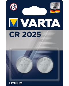 Varta CR 2025 Electronics Lithium 3V 2-pack
