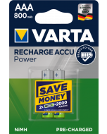 Varta Power Accu HR03 AAA 800 mAh Ready2Use 2 броя