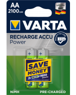 Varta Power Accu HR6 AA 2100 mAh Ready2Use 2 броя