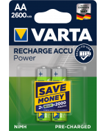 Varta Power Accu HR6 AA 2600 mAh Ready2Use 2 броя