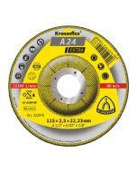 A 24 Extra диск за  рязане на  метал 115 x 2.5 x 22.23  мм.