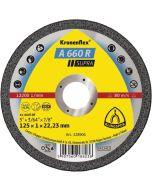 A 660 R  Supra  диск  за   неръждаема стомана  125 x 1 x 22.23 мм.