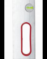 Алуминиев мастар Stabila AL-2L-2G с 2 либели и дръжки 200 см