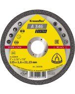 A 346 Extra  диск за   рязане на   неръжд. стомана  - нов артикул 125 x 1.6 x 22.23 мм.