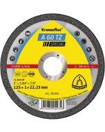 A 60 TZ Special диск за рязане на неръждаема стомана и цветни метали  125 x 1 x 22.23   мм.